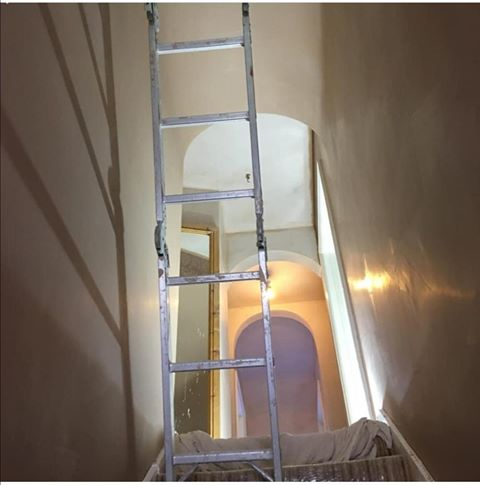 Jackson Plastering - Plasterer in Harrow, Ruilslip, Uxbridge and Watford - Internal plastering progress