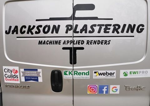 Jackson Plastering - Plasterer in Harrow, Ruislip, Uxbridge and Watford - Van
