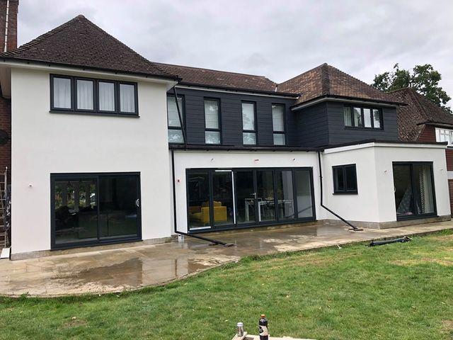 Jackson Plastering - External Krend Rendering Completed Job- Watford Harefield, Ruislip & Harrow