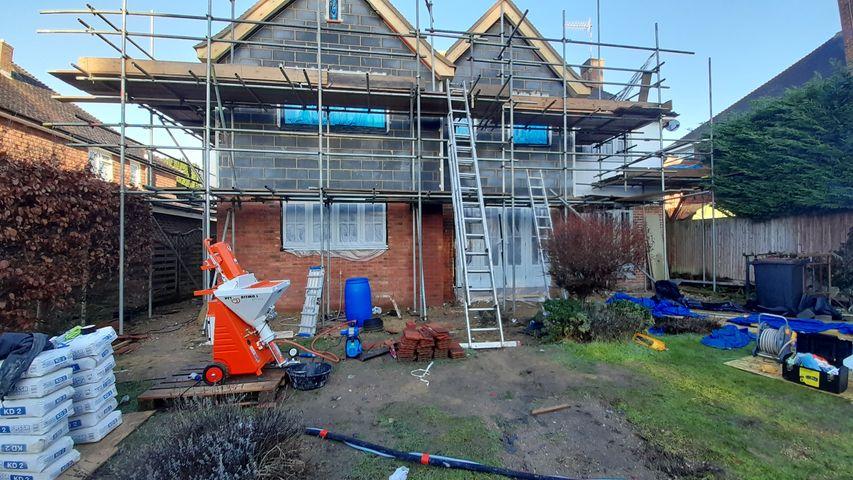 Jackson Plastering - External plastering and rendering - Watford Harefield Ruislip